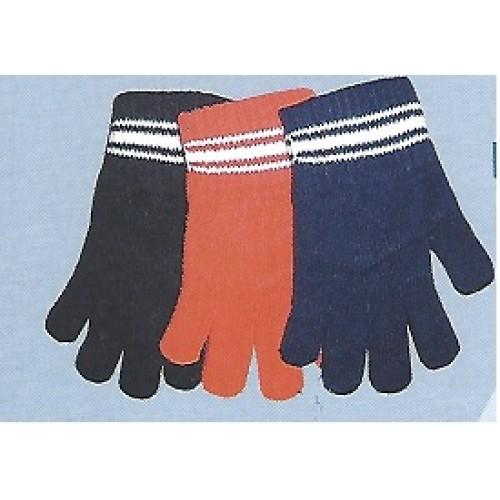 Γάντια ακρυλικά Magic με ρίγα 0051/1