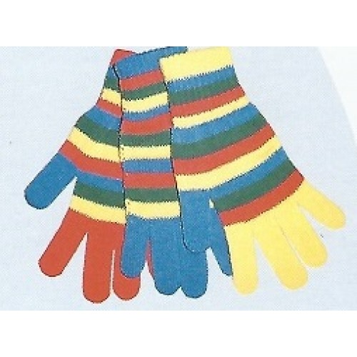 Γάντια παιδικά ριγέ 0055/2