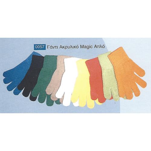 Γάντι ακρυλικό MAGIC απλό 0057