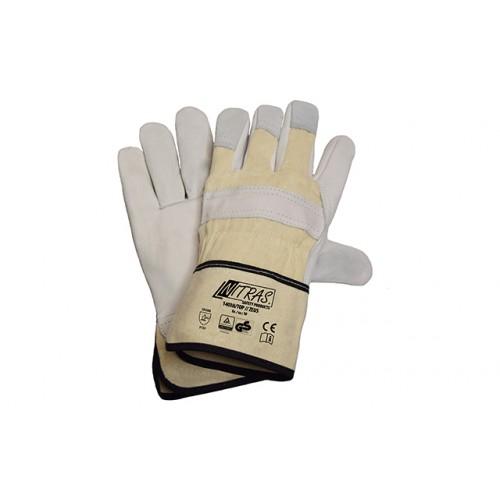 Γάντια ZEUS WHITE BACK CANVAS CUFF 1403H/TOP