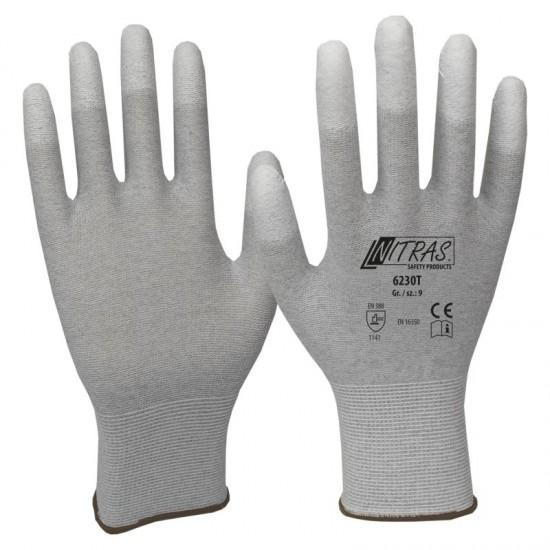 Γάντια, αντιστατικά PU 6230T