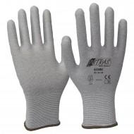 Γάντια αντιστατικά, γκρι χωρίς επένδυση 6230UC