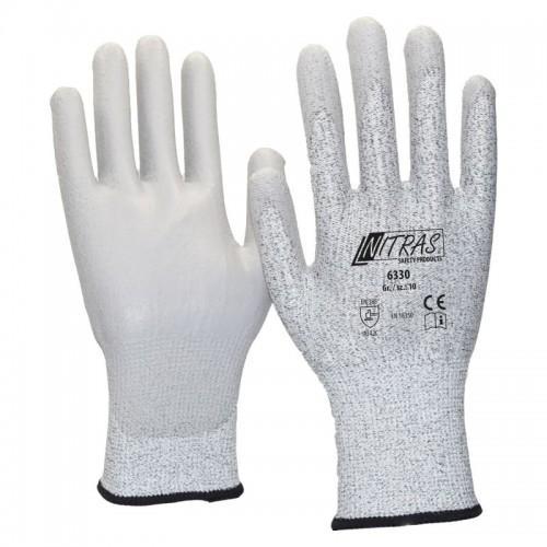 Γάντια αντιστατικά PU COATING γκρι 6330