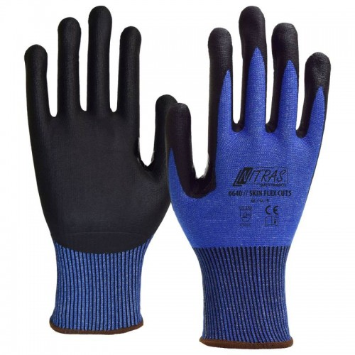 Γάντια προστασίας κοπής μπλε SKIN FLEX CUT5 6640