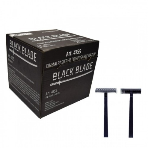 Ξυριστική μηχανή μιας χρήσης 4755 μαύρη