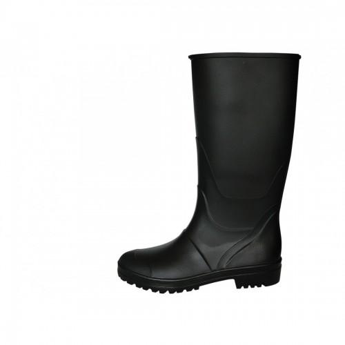Μπότες PVC γόνατου μαύρες