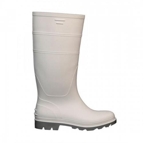 Μπότες γόνατου λευκές