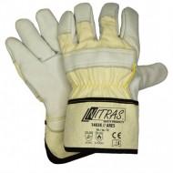 Γάντια προστασίας κοπής δερματοπάνινα 1403K ARES