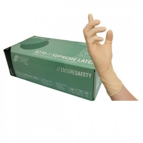 Γάντια ιατρικά SUPREME LATEX 8210