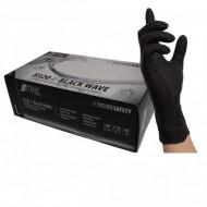 Γάντια νιτριλίου μιας χρήσης BLACK WAVE 8320