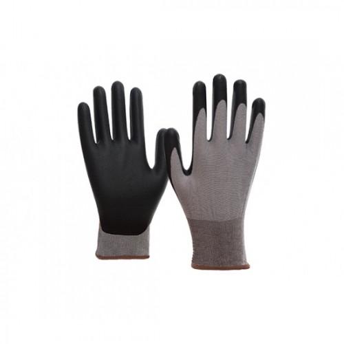 Γάντια προστασίας πλεκτά γκρι με επένδυση PPU SKIN CLEAN 8720