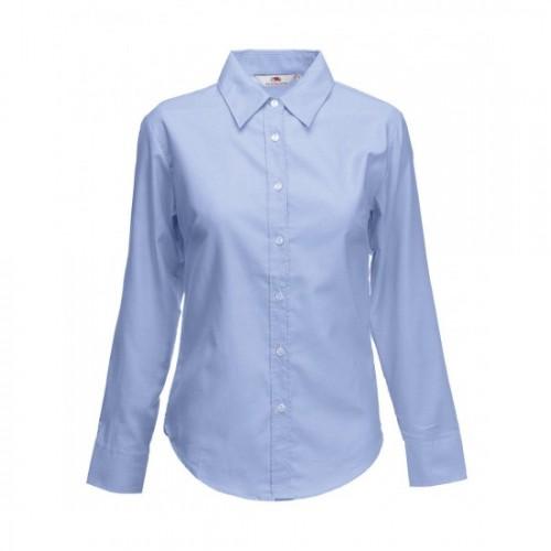 Fol Ladies Oxford L/S Shirt
