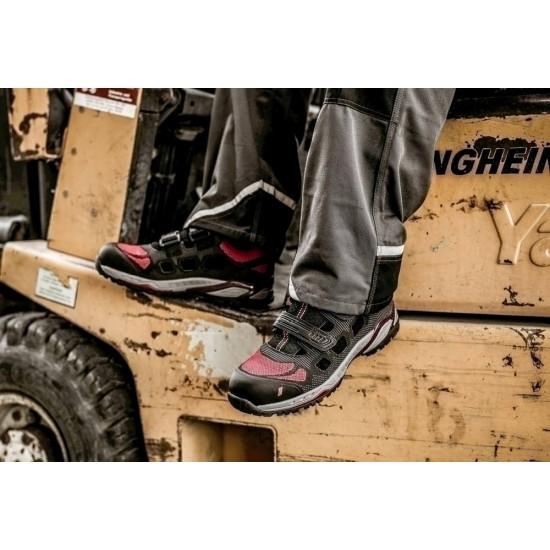 Σκαρπίνι ασφαλείας 7412 PRO STEP SA