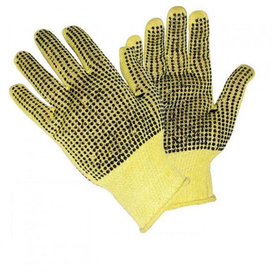 Γάντια Kevlar 13G 2 όψεις PVC