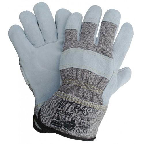Γάντια Δερματοπάνινα 1307/1308