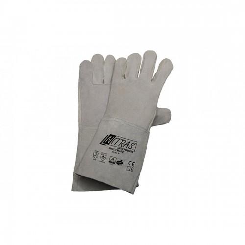 Γάντια προστασίας ηλεκτροσυγκολλητή  δερμάτινα WELDER 20435