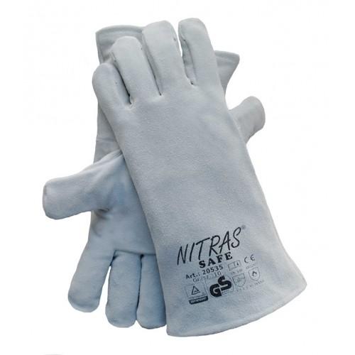 Γάντια προστασίας ηλεκτροσυγκολλητή δερμάτινα SAFE 20535