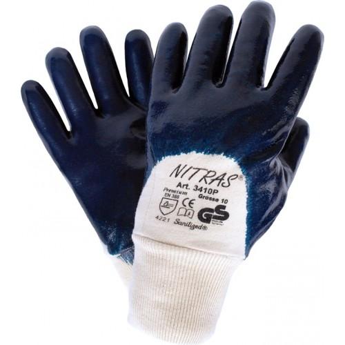 Γάντια νιτριλίου premium 3/4 3410P