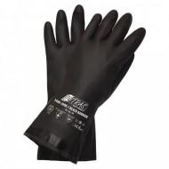 Γάντια προστασίας χημικών νεοπρενίου BLACK BARRIER 3460