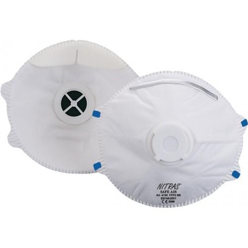 Μάσκα προστασίας με βαλβίδα SAFE AIR FFP2  4130