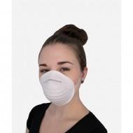 Μάσκα σκόνης μιας χρήσης, λευκή 4340