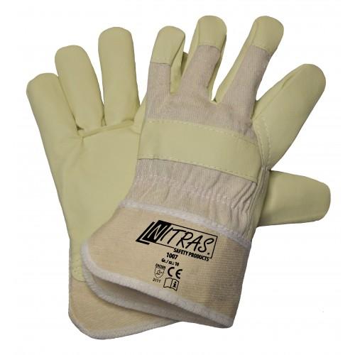 Γάντια δερματοπάνινα PUWA 1007
