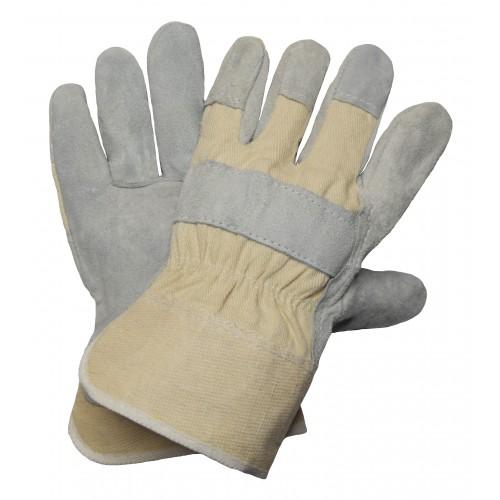 Γάντια δερματοπάνινα 1300