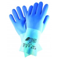 Γάντια προστασίας χημικών latex BLUE POWER GRIP 1611