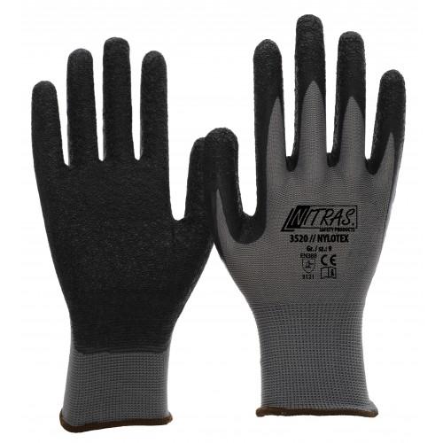 Γάντια nylon, με επένδυση latex  NYLOTEX 3520