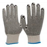 Γάντια εργασίας πλεκτά πολυέστερ/βαμβάκι 6010
