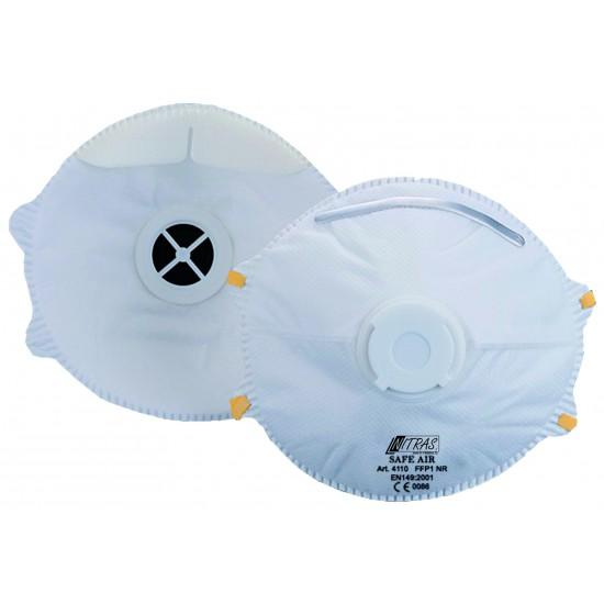 Μάσκα προστασίας SAFE AIR με βαλβίδα FFP1 NR D 4110