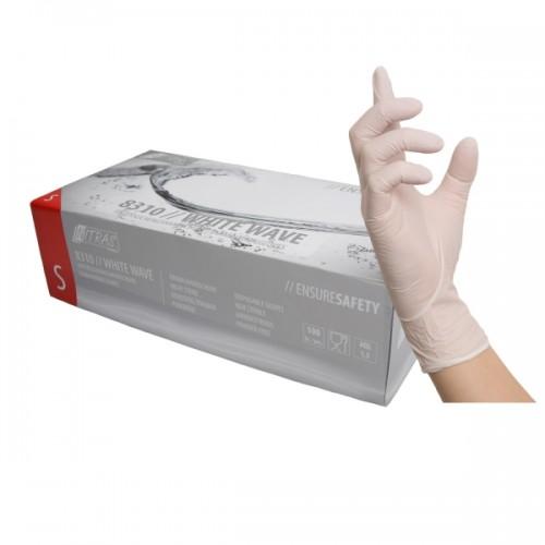 Γάντια νιτριλίου μιας χρήσης WHITE WAVE 8310